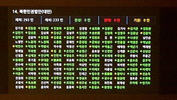 북한인권법 첫 발의 11년만 국회 통과…김정은도 '처벌대상'